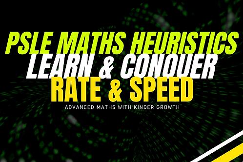 Maths Heuristics Rate & Speed (Advance Maths)