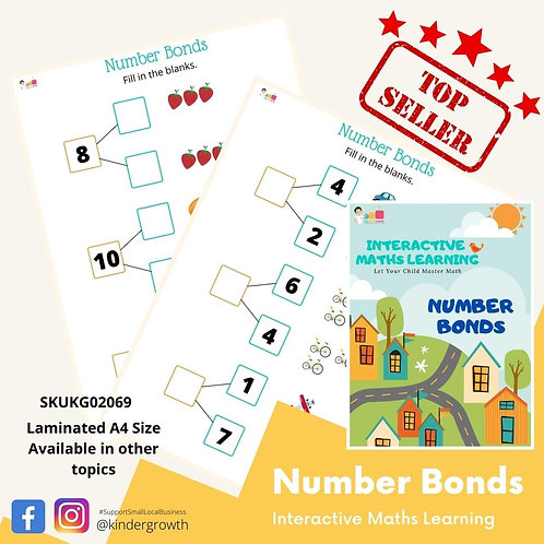 Interactive Maths - Number Bonds
