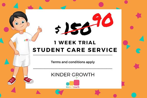 Student Care Service 1 Week (Limited Slots)