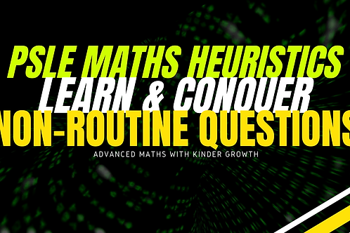 Maths Heuristics Non-Routine Questions (Advance Maths)