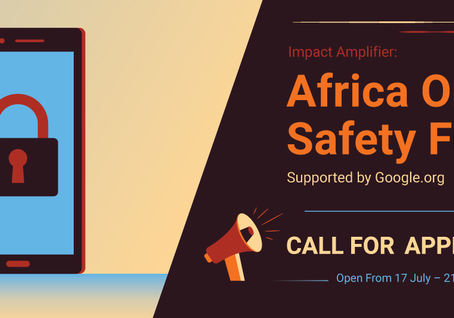 WELCOME TO THE AFRICA ONLINE SAFETY FUND APPLICATION.