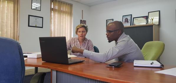 Amedzo marketing coaching session