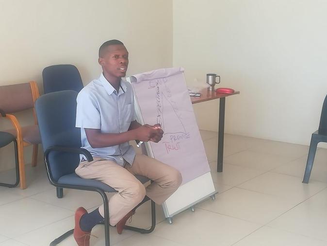 Shaffie our GYAJ Facilitator