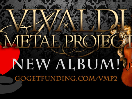 Vivaldi Metal Project - New Studio Album Campaign