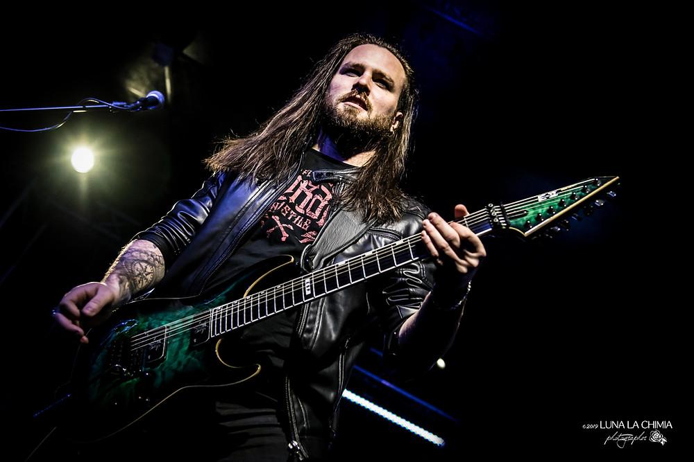Nils Courbaron guitarist Sirenia Vivaldi Metal Project