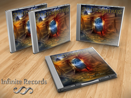 StratofortresS - 'Anthems of the World' album (featuring Mistheria) released