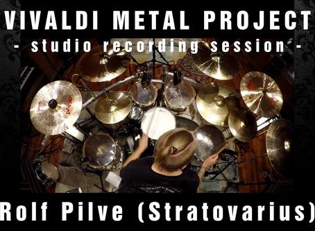 New Album Featured Artist - Drummer Rolf Pilve