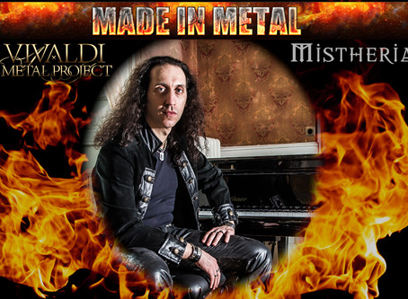 Video interview to Mistheria by Made In Metal