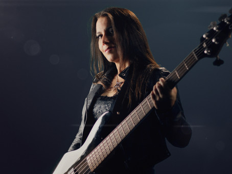 New solo Metal album - Bassist Wanda Ortiz announced