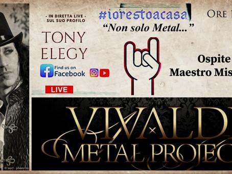 Guest at #iorestoacasa Italian series on Monday 18th 2020