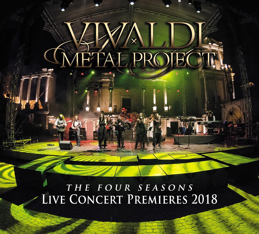 Vivaldi Metal Project - The Four Seasons Live Concert Premieres 2018 DVD + CD