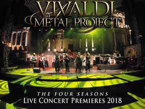 PRE-ORDER now open for Vivaldi Metal Project's Live Concert Premieres 2018 DVD!
