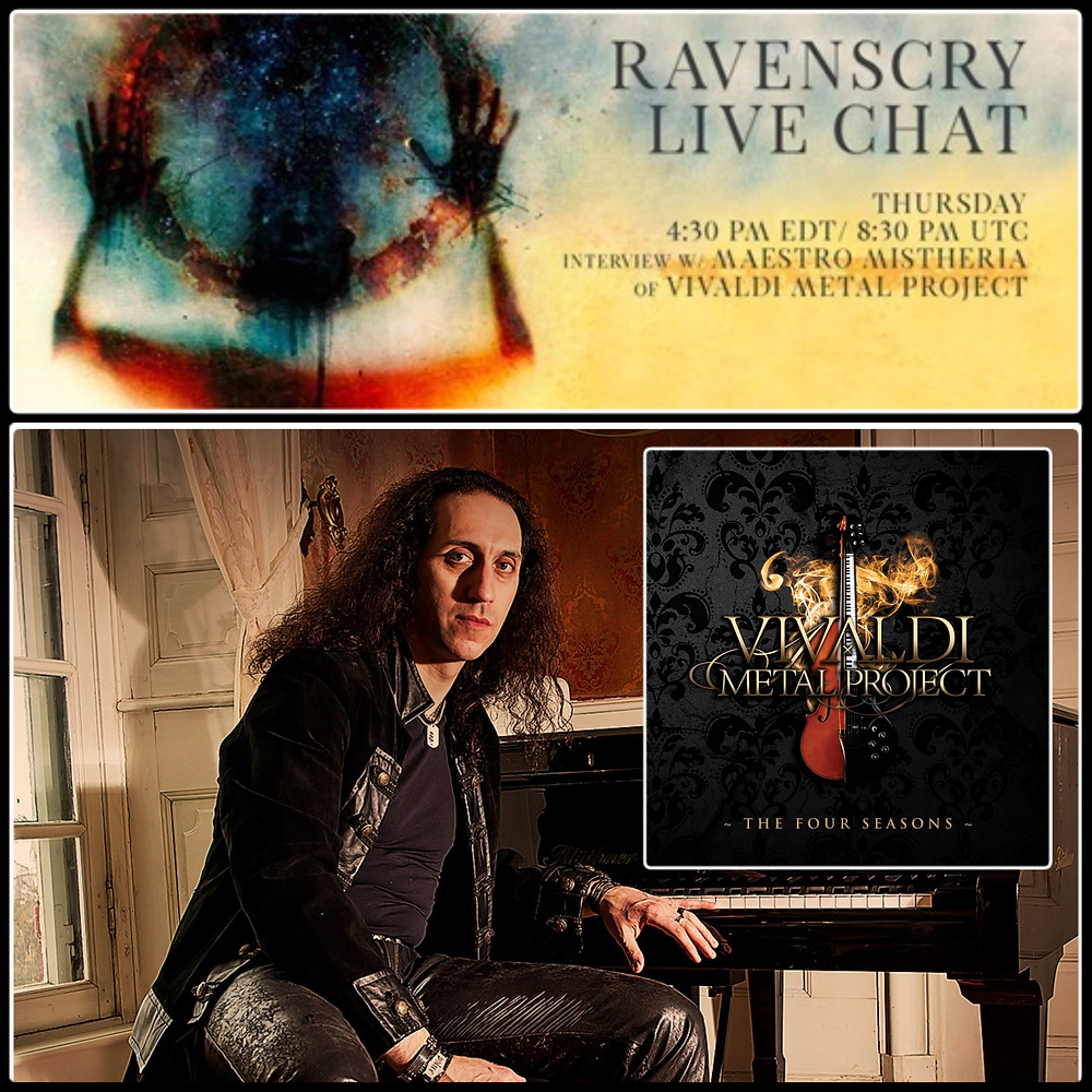 Ravenscry video chat with Mistheria of Vivaldi Metal Project