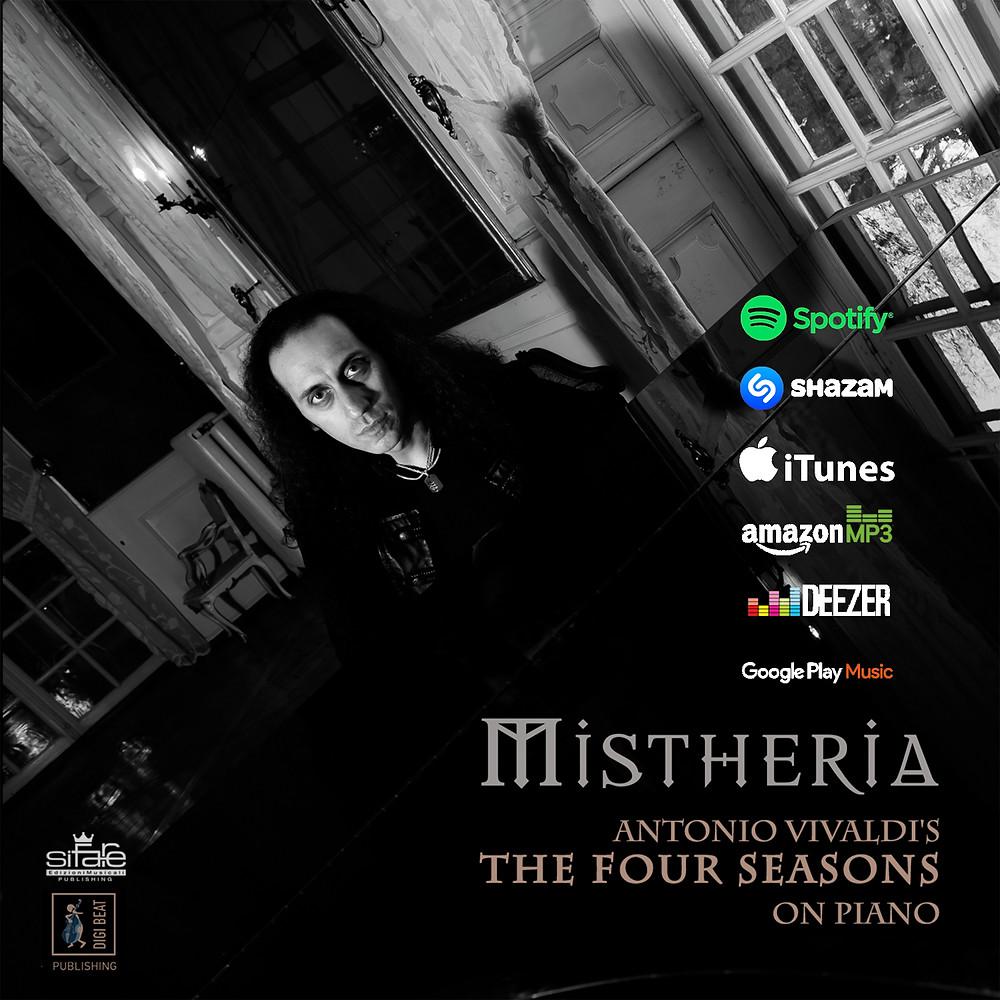 Mistheria - Antonio Vivaldi - The Four Seasons on Piano music platforms