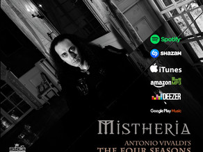 Vivaldi's 'The Four Seasons' on Piano by Mistheria now available!