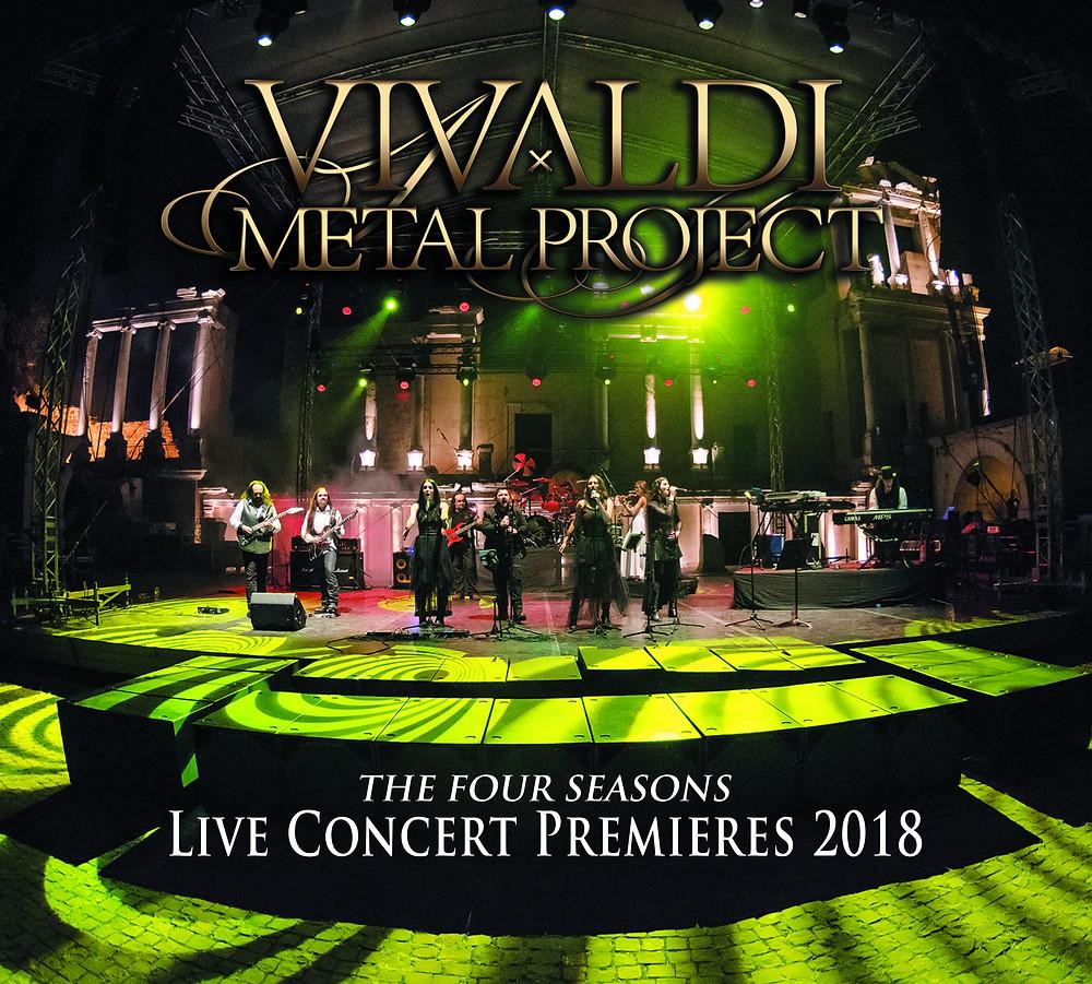 Vivaldi Metal Project - Live Concert Premieres 2018 album on Amazon