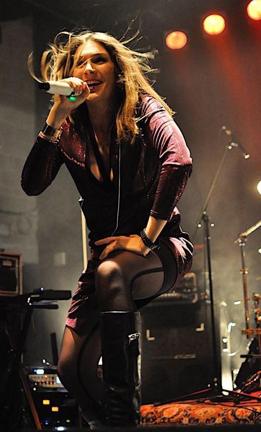 Emma Elvaston singer Vivaldi Metal Project