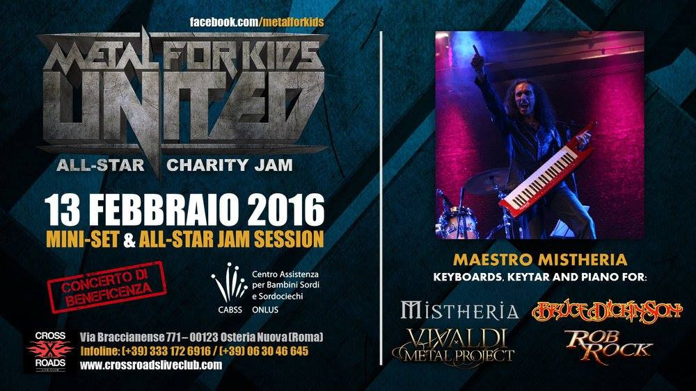 Mistheria at Metal for Kids