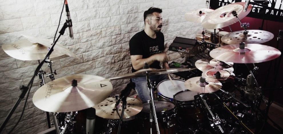 Mirkko De Maio drummer Vivaldi Metal Project 2