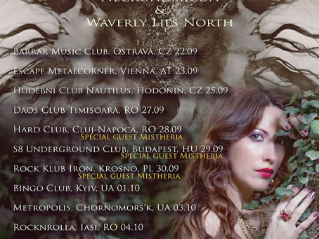 Caterina Nix - European Tour 2017 special guest appearance