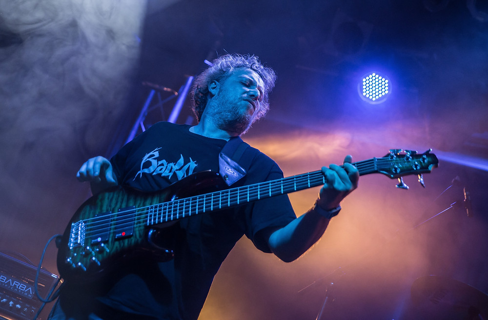 Alberto Rigoni bassist Vivaldi Metal Project