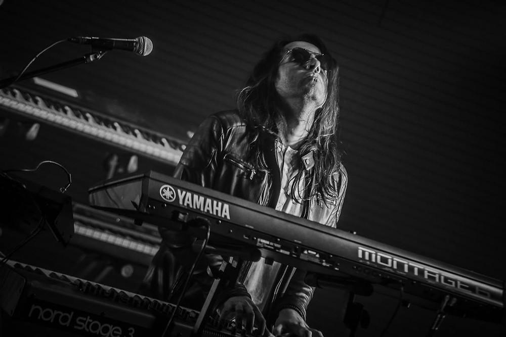 Nicolas Quinteros Delta band Keyboards Vivaldi Metal Project 2