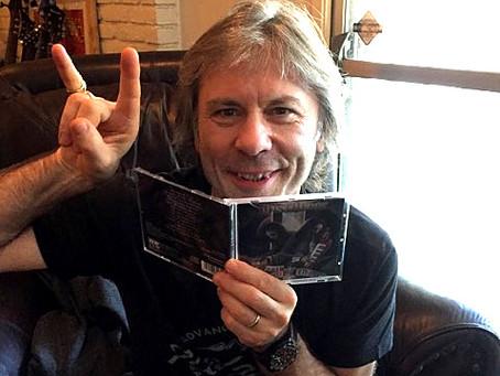 Bruce Dickinson likes Gemini album!