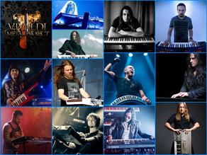 Vivaldi Metal Project 2nd Studio Album Featured Keyboardists