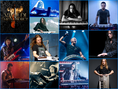 Vivaldi Metal Project 2nd Studio Album Featured Keyboardists
