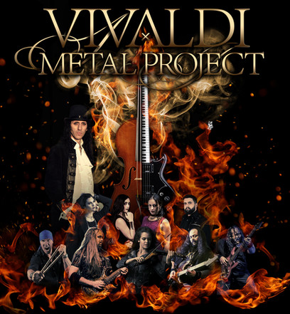 Vivaldi Metal Project - Live band 2018
