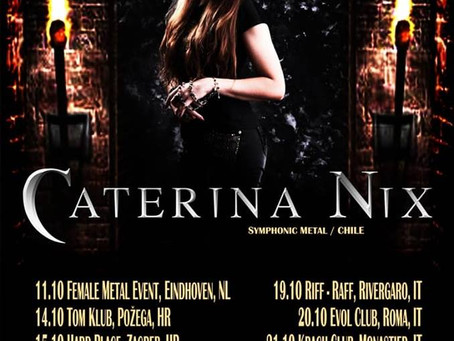 Caterina Nix tour 2018