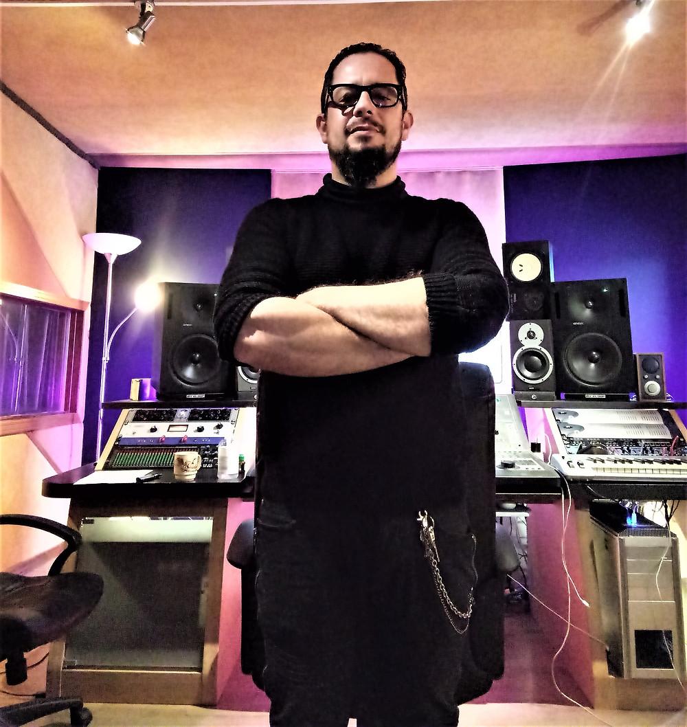Ivan Moni Bidini - Artesonika Recording Studio mixing session Vivaldi Metal Project 2