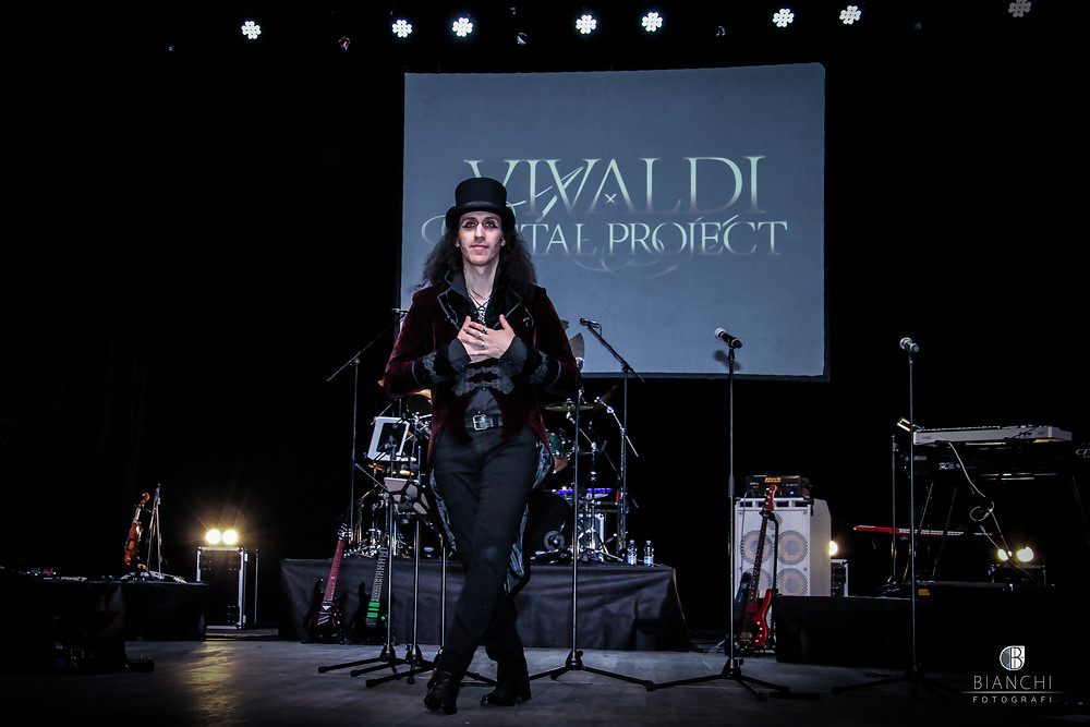 Mistheria thank you Vivaldi Metal Project Italian Premiere