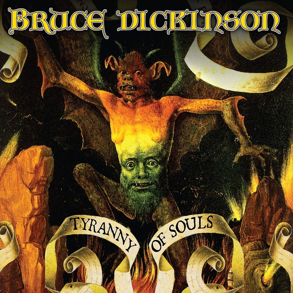 Bruce Dickinson - Tyranny of Souls (featuring Mistheria on keyboards)
