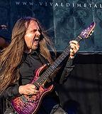Dr Viossy guitarist Vivaldi Metal Projec