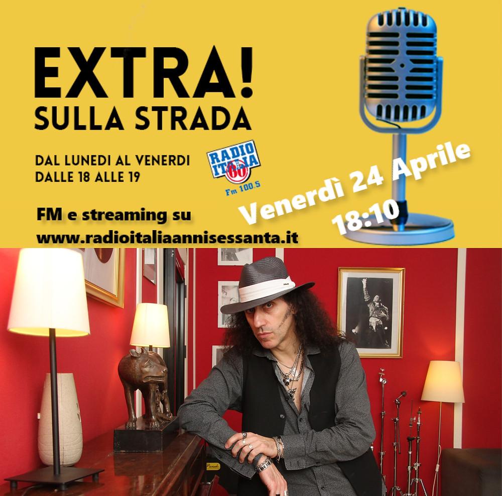 Mistheria intervista a Extra sull strada per Radio Italia anni 60