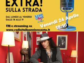 Interview on Radio Italia Anni 60
