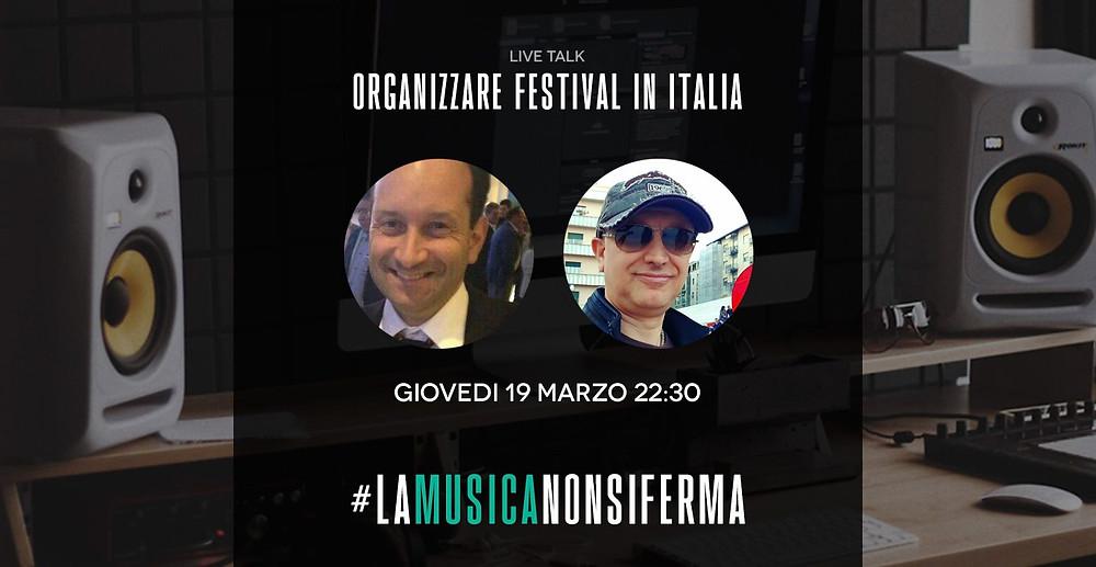Mistheria ospite al Live Talk #lamusicanonsiferma 19 Marzo 2020