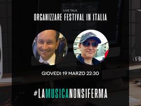 Guest at Italian Live Talk #lamusicanonsiferma