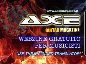 Mistheria featured on Axe Guitar Magazine. Special interview out now!