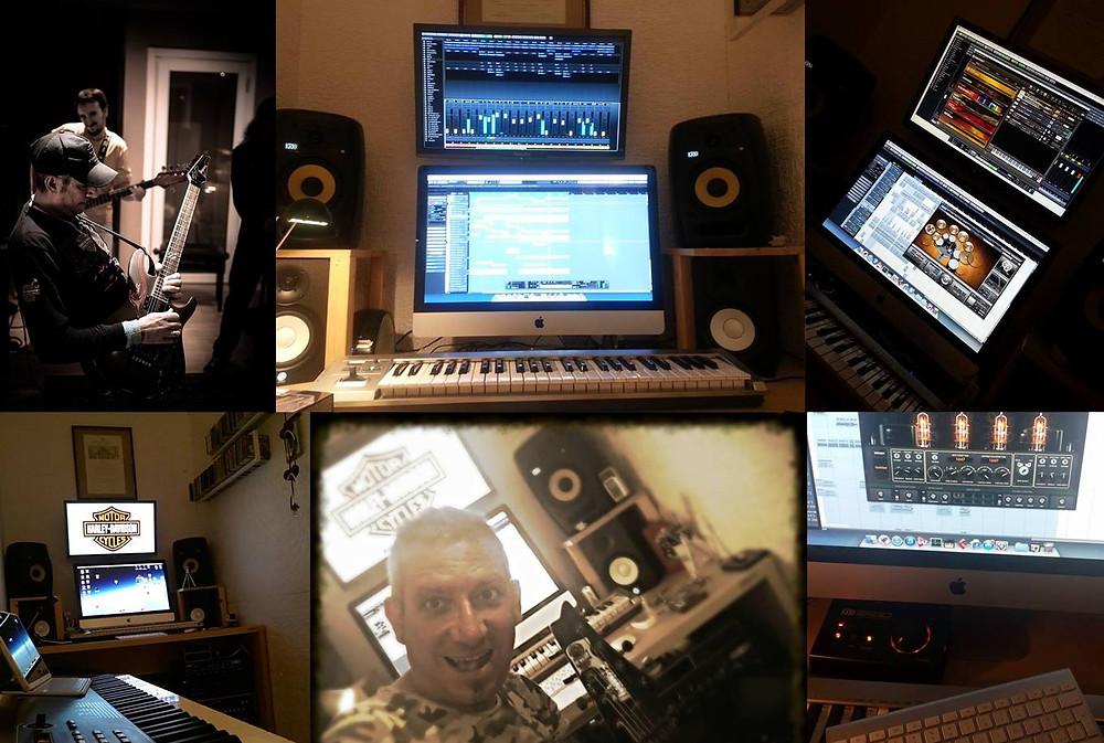 Frank Caruso mixing Mistheria's GEMINI album