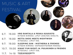 Mistheria & friends unplugged concert in Finland 2020