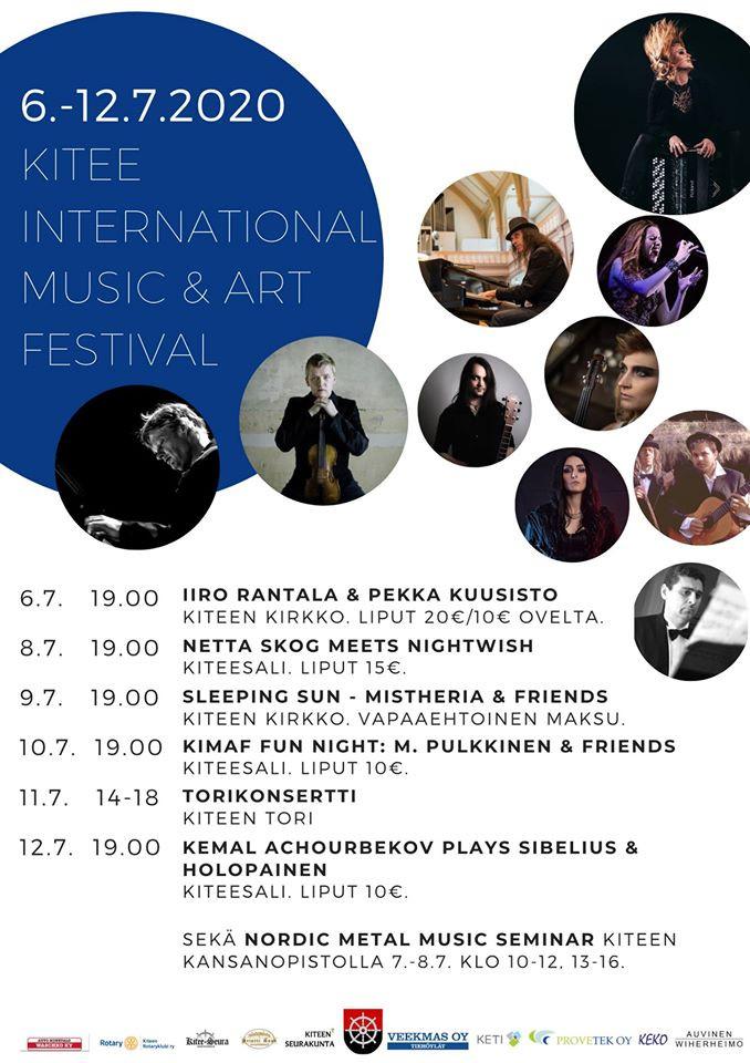 "MISTHERIA & FRIENDS ""Sleeping Sun"" Unplugged Concert (Finland 🇫🇮 2020)"