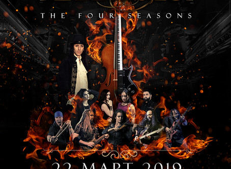 Vivaldi Metal Project - Live in Sofia, March 2019