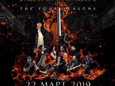 Vivaldi Metal Project - Live in Sofia, March 2019