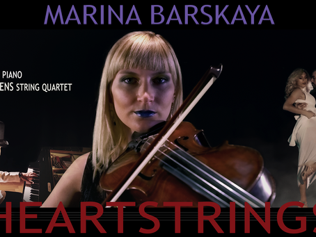 Heartstrings - Instrumental single release by violist Marina Barskaya ft. Mistheria and Wild Queens
