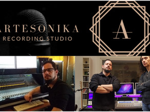 Vivaldi Metal Project mixing session for the 2nd studio album started at Artesonika Studio in Italy