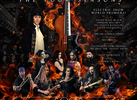 VIVALDI METAL PROJECT to play electric show world premiere at the Roman theater in Bulgaria!