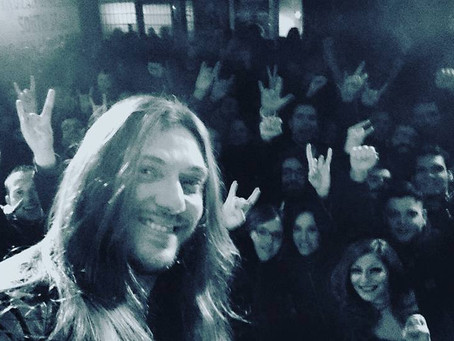 Edu Falaschi Italy Tour February 2016 completed