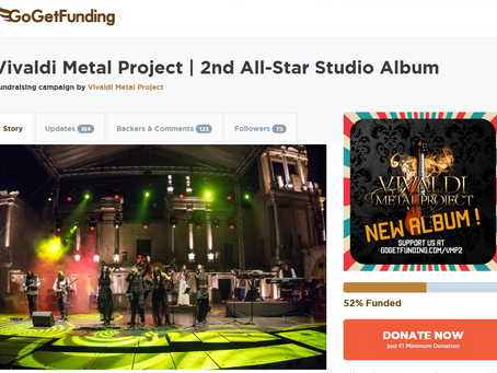 Fundraising Campaign For The New Album - Update March 2021
